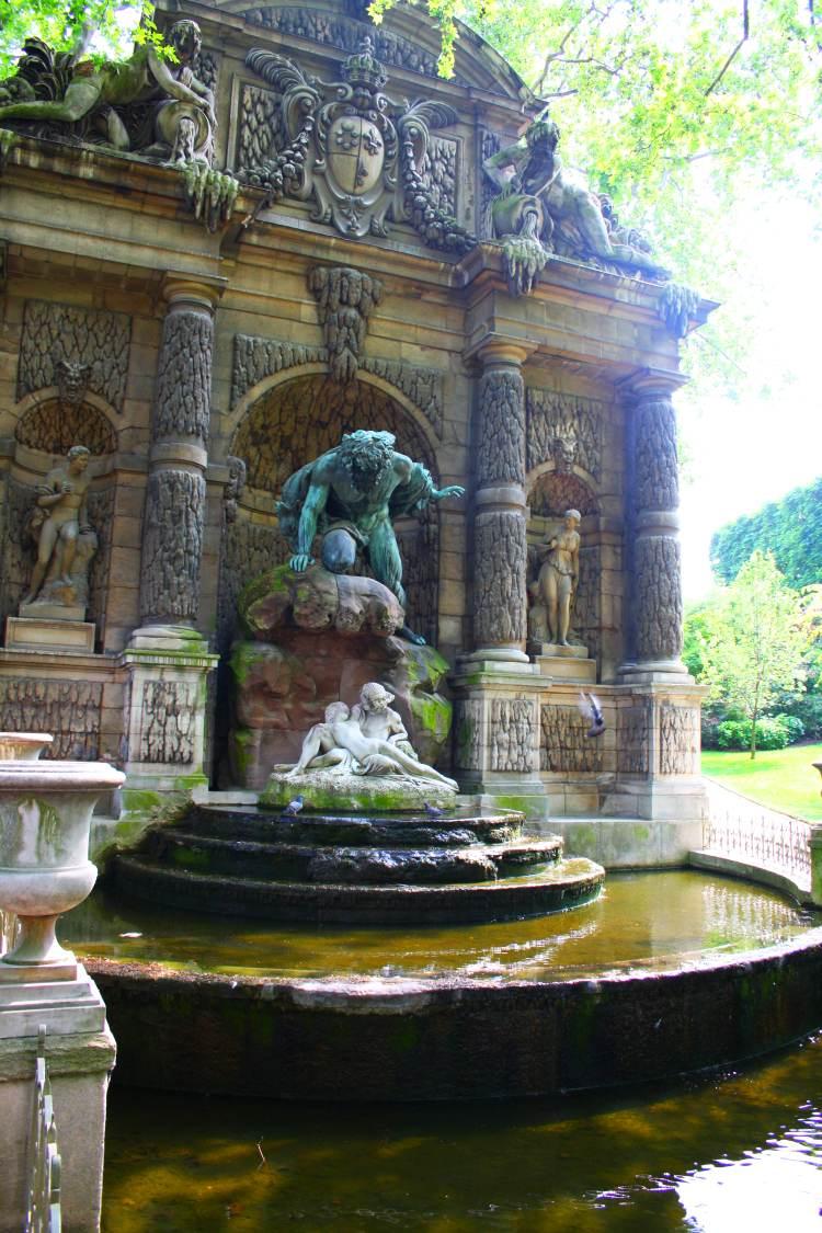 El jard n de luxemburgo jardines de par s for Jardines de luxemburgo paris